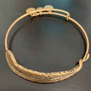 Alex and Ani Quill Feather Wrap